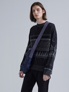 CROQUIS 速写 9H8822391 男士趣味图案羊毛衫