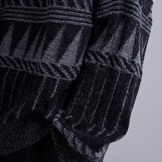 CROQUIS 速写 9H8822391 男士趣味图案羊毛衫 L