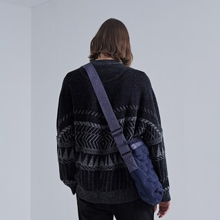 CROQUIS 速写 9H8822391 男士趣味图案羊毛衫 XL