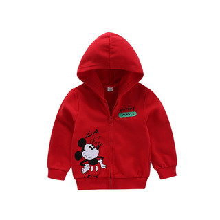 Disney baby 迪士尼宝宝 男女童针织连帽外套