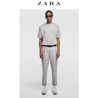 ZARA 09621300819-23 男士基本款收腿裤 34
