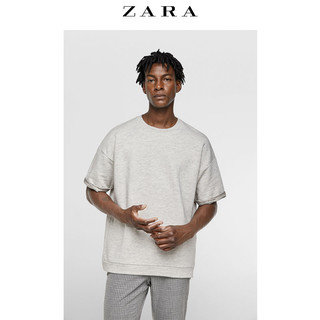 ZARA 05350323052-23 男士廓形短袖卫衣 S