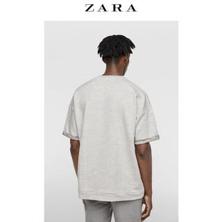 ZARA 05350323052-23 男士廓形短袖卫衣 XL