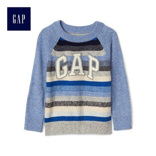 GAP 盖璞 Gap 盖璞 934747 儿童徽标圆领针织衫