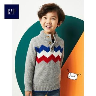Gap 盖璞 934825 W 儿童半高领毛衣