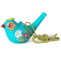 汇乐玩具 529 口哨彩绘水鸟 儿童益智玩具 男女孩新年礼物宝宝早教音乐启蒙 颜色随机 *6件