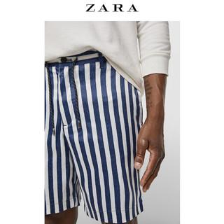 ZARA 00706429060-23 男士条纹短裤 L