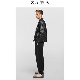 ZARA 00706200800-23 男士山羊皮夹克 L