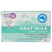凑单品:babyU 婴儿羊奶皂 100g