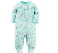 Carter's 婴儿印花长袖连体衣