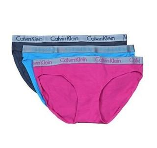 CALVIN KLEIN 卡尔文·克莱 女士棉质比基尼内裤