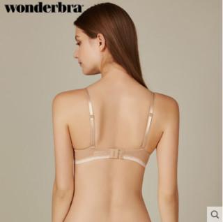 wonderbra WBWBR7G22T 肤色光面蕾丝聚拢文胸
