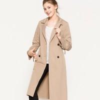 ESPRIT 077EO1G002 女士风衣外套