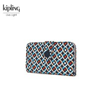 Kipling 凯浦林 K70417 女士手拿包 多彩地中海印花