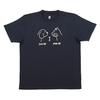 Graniph 100003398 男女同款 印花T恤