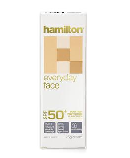 HAMILTON 汉米尔顿 日常防晒面霜 SPF50+