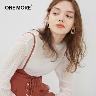 ONE MORE 11QD720217 女士雪纺衬衫 S