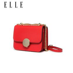 ELLE女包新款80230牛皮欧美时尚单肩包斜挎包链条包小方包
