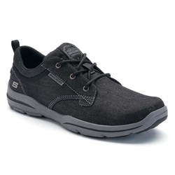 Skechers/斯凯奇 男鞋帆布鞋系带低帮舒适耐磨 美国直邮2664207