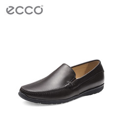 ECCO爱步商务正装休闲豆豆鞋 时尚便捷舒适套脚鞋 达斯莫克570104
