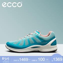 ECCO爱步春夏时尚女鞋低跟平底系带运动鞋健步活力健身系列837503