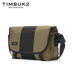 TIMBUK2黑色/绿色经典款信使包