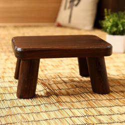 柴扉園  复古换鞋凳矮凳多功能小凳子小板凳实木头坐凳穿鞋茶几凳家
