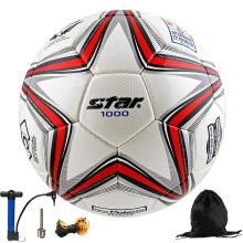 世达比赛足球1000手缝5号成人4号青少年五号sb375学生手缝足球 SB374