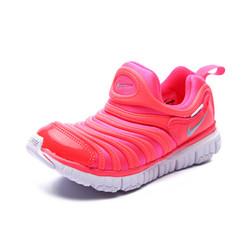 耐克儿童鞋毛毛虫童鞋舒适运动休闲鞋343738-620 粉色13C/31码