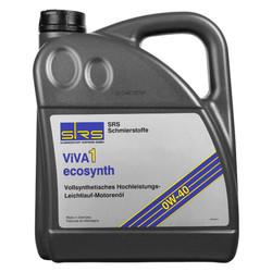 塞兹伯根 Ecosynth极力威 德国原装进口酯类全合成汽柴通用发动机油 0W-40 SM/CF级 4L