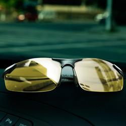 固特异驾驶眼镜偏光镜太阳镜 男女款驾驶专用开车眼镜 汽车用品 GY-2301