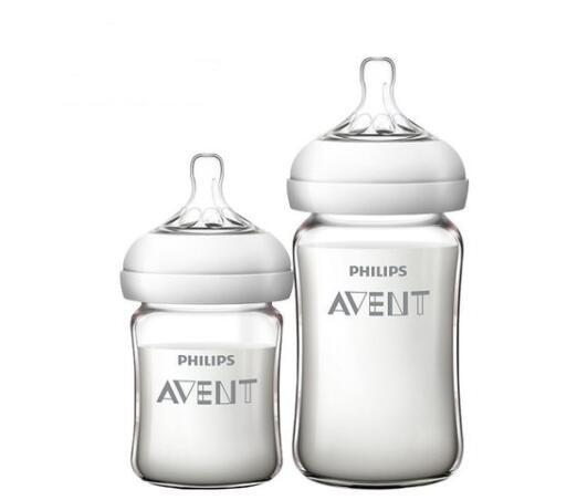 AVENT 新安怡 SCF679/53 宽口径玻璃奶瓶套装 125ml+240ml