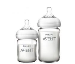 AVENT 新安怡 SCF679/53 宽口径玻璃奶瓶套装 125ml 240ml *3件