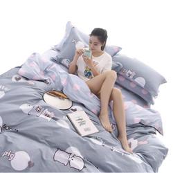 Xanlenss 轩蓝仕 全棉斜纹四件套纯棉高支床单4件套