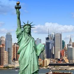 正跨年!上海往返美国纽约含税机票