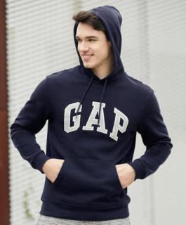 Gap 盖璞 867073-1  男士LOGO连帽卫衣