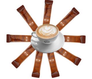 肆只猫  特浓速溶咖啡粉即饮三合一  15g*50条