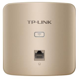 TP-LINK 普联 TL-AP450I-PoE薄款 450M无线面板式AP (香槟金)