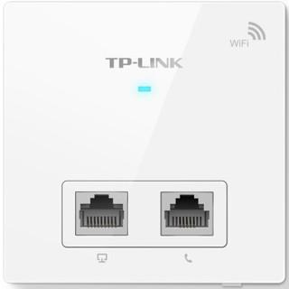 TP-LINK 普联 TL-AP300I-PoE 300M无线面板式AP