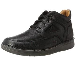 Clarks Unnature MID 男士系带休闲鞋 Black UK8.5