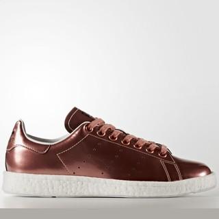 "adidas Originals Stan Smith Boost ""Metalic"" 女款休闲运动鞋"
