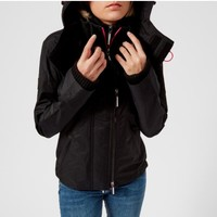 Superdry 极度干燥 Tech Hood Pop Zip 女款防风夹克