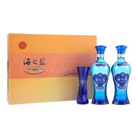 苏宁SUPER会员:YANGHE 洋河 蓝色经典 海之蓝 52度 480ml*2瓶。 *2件