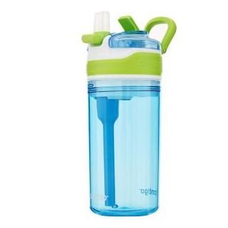 contigo HBC-SNA001 儿童吸管水杯 400ml 蓝色 *3件