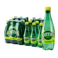 Perrier 巴黎水 青柠味气泡水 500ml*24瓶