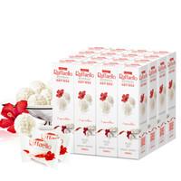 Ferrero Raffaello费列罗拉斐尔椰蓉扁桃仁糖果巧克力礼盒48粒480g *2件