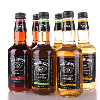 JACK DANIELS 杰克丹尼 威士忌预调鸡尾酒 330ml*6瓶