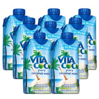 Vita Coco 唯他可可 天然椰子水 330ml*8瓶