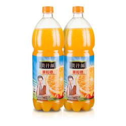 美汁源 果粒橙1.25L*12瓶