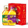 福临门 食用油品质套装  葵花籽油3.09L+玉米油3.09L